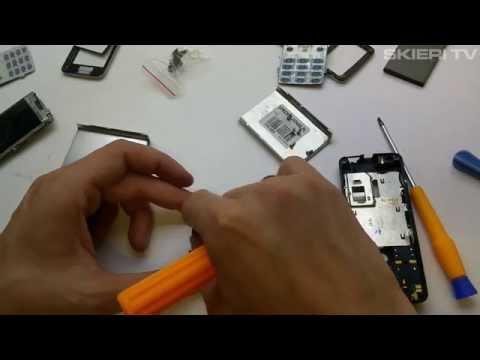 Nokia 6300 - wymiana obudowy - naprawa wyświetlacza lcd - disassembly - repair