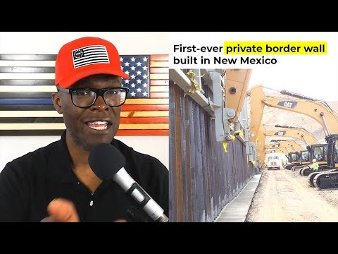 Border Wall Being Built With Private GoFundMe Money in El Paso!