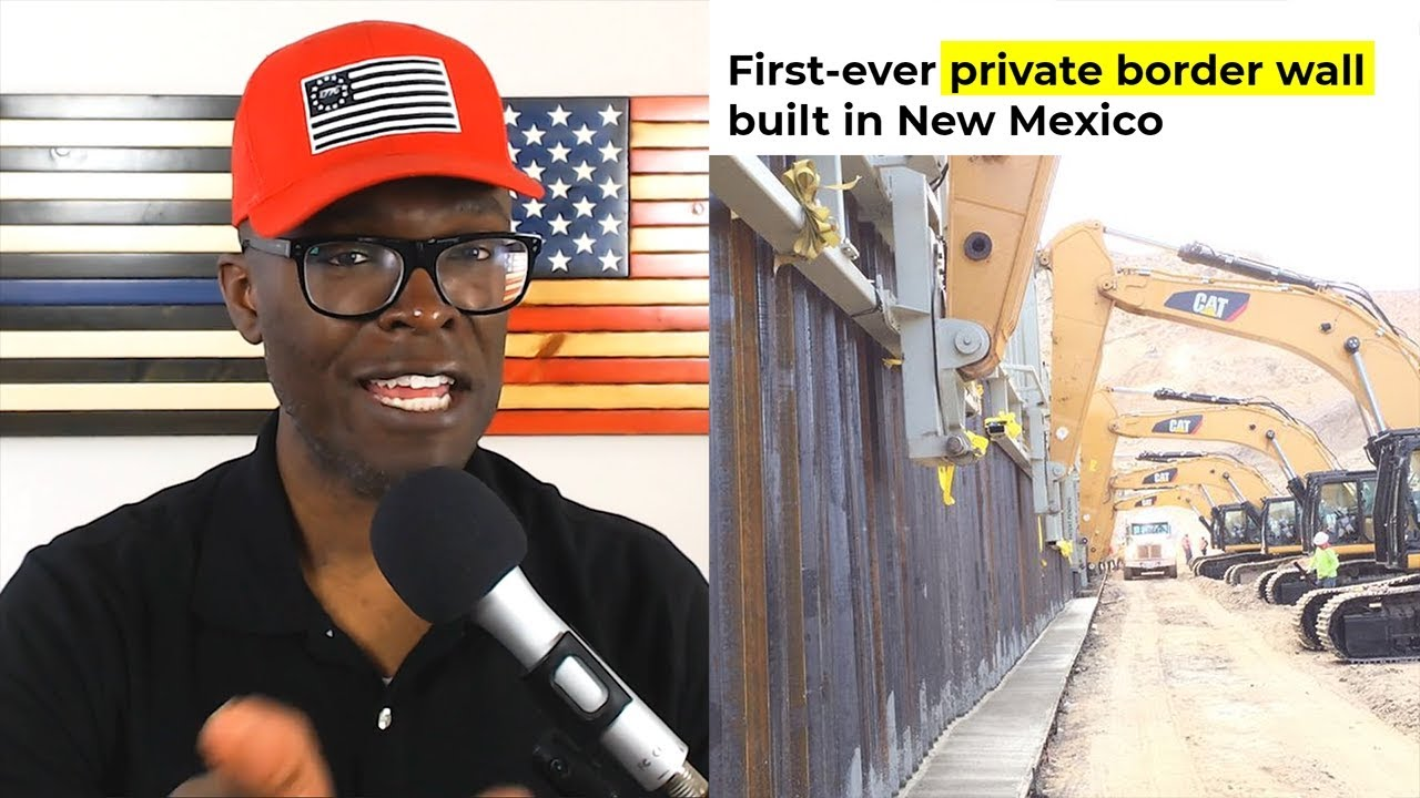 Anthony Brian Logan - Border Wall Being Built With Private GoFundMe Money in El Paso!