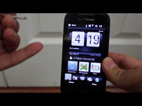 HTC Touch Pro 2 Hard Reset Factory Reset
