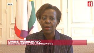 « L'Afrique ne veut pas de traitement spécial » contre le coronavirus, dit Louise Mushikiwabo (OIF)