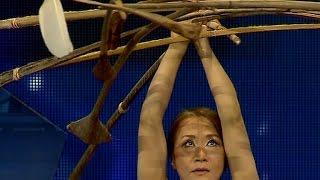 Georgia's Got Talent - Miyoko Shida Rigolo's great balance