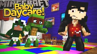 Minecraft Baby Daycare - BABY DRACULA JOINS THE BABIES IN DAYCARE!