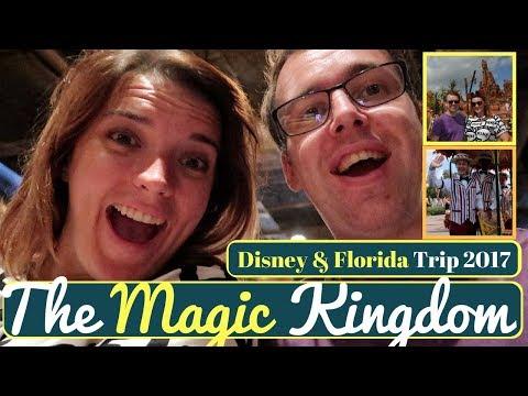 Walt Disney World & Orlando Vacation Vlog #23 | Magic Kingdom part1 | 2017