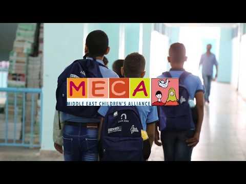 Backpacks and hygiene kits for children in Gaza