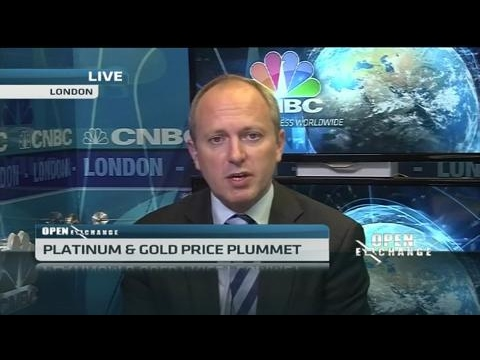 Platinum & gold price plummet