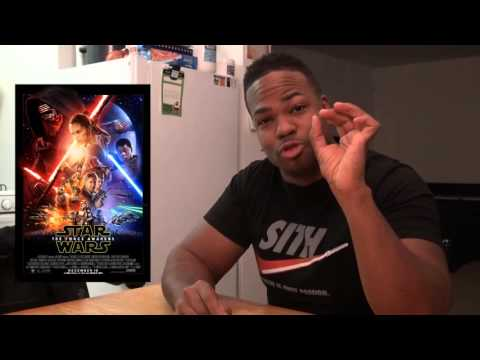 Star Wars The Force Awakens MOVIE REVIEW + SPOILER TALK!!!