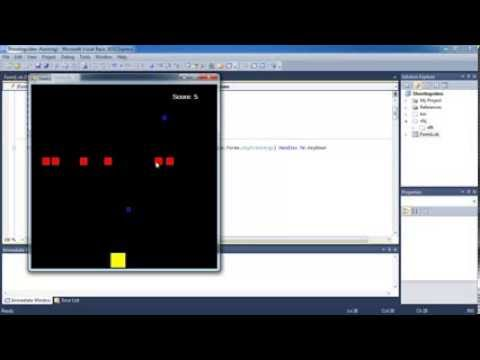 Shoot 'em up game creation lesson 10 (visual basic) - Playing sound effects