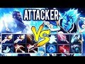 !Attacker Dota 2 [Kunkka] Vs Full Item Storm Spirit - You Can't Catch Me