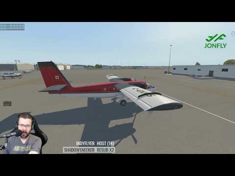 RWDesigns DHC-6 Twin Otter 300 v2  KCLT to KGRD FSEconomy