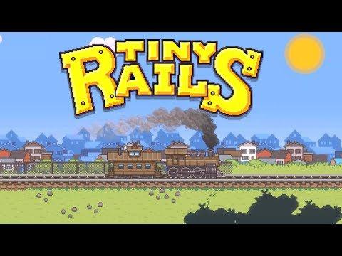 Train Simulator with Tons of Hidden Secrets! - Tiny Rails PC Train Simulator Gameplay!