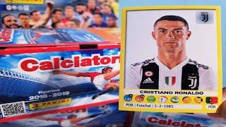 CRISTIANO RONALDO.. CELO! | APERTURA BOX CALCIATORI FIGURINE 2018-2019 PANINI