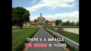 Miracle - Whitney Houston (Karaoke Cover)