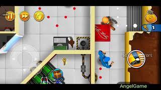Robbery Bob - Bonus Chapter (Challenge) Level 4 Gameplay Video