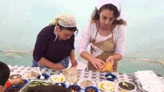 فعالية الزيت والزيتون 2015 في مدرسة نايف قبلان الخضراء بيت جن