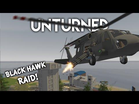 Unturned | Black Hawk Raid! (Roleplay Survival)