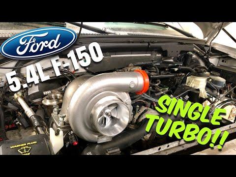 2003 Ford F150 5.4L V8 Single TURBO Install!! (Ep: 1) ***Grandpa Truck Project***