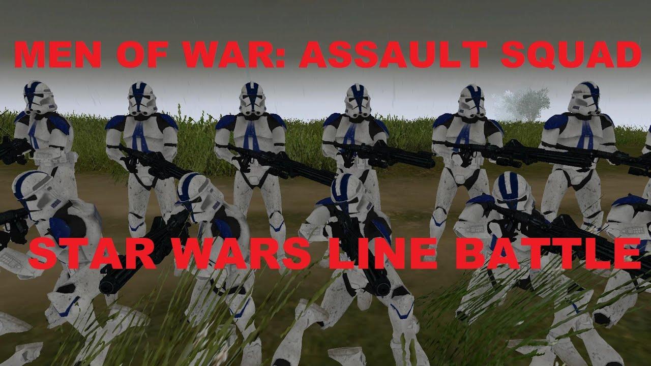 Men Of War: Assault Squad - Star Wars Mod ~ Clone Trooper ...