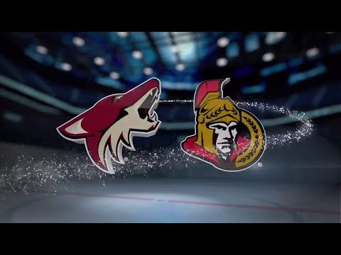 Arizona Coyotes vs Ottawa Senators - November 18, 2017 | Game Highlights | NHL 2017/18. Обзор матча