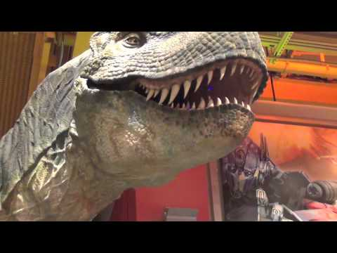 T-Rex, Transformers, And Lego World At Toys Rus NYC