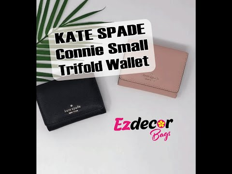 Kate Spade Connie Small Trifold Wallet WLRU5551 Review | EzdecorBags