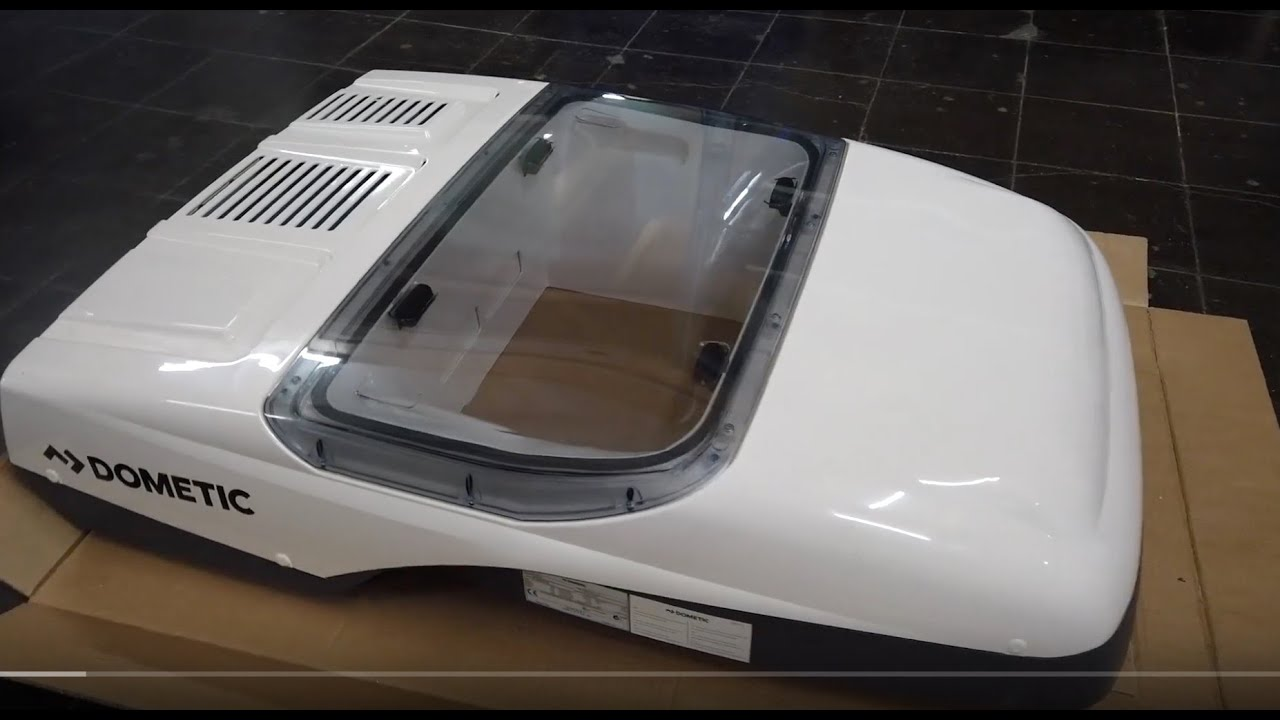 Einbau Dometic Klimaanlage mit Fenster Dometic FreshLight 10  Dachklimaanlage Mooveo EB 10