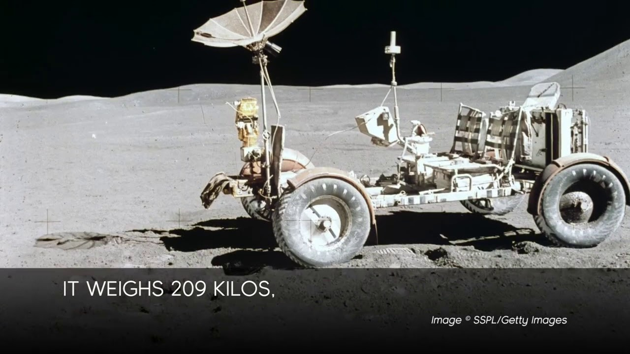 მთვარის როვერი  Lunar Rover  Лунный ровер  video  8