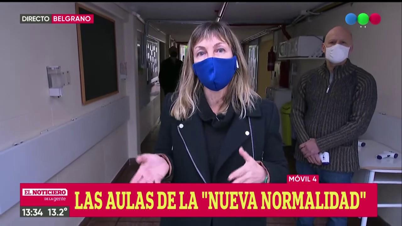 """Las aulas de la """"nueva normalidad"""" - El Noti de la Gente"""