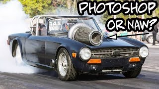 Fast Eddie and his Triumph Powered TURBO!