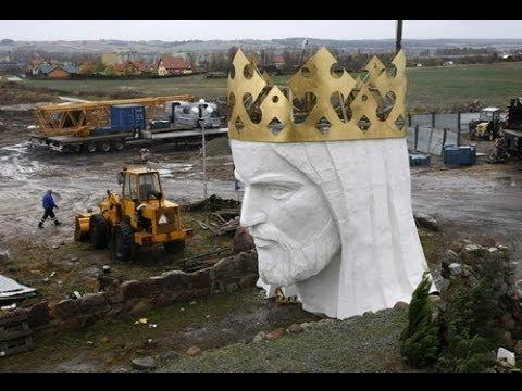 World's Tallest Statue of Christ - Christ The King, Poland