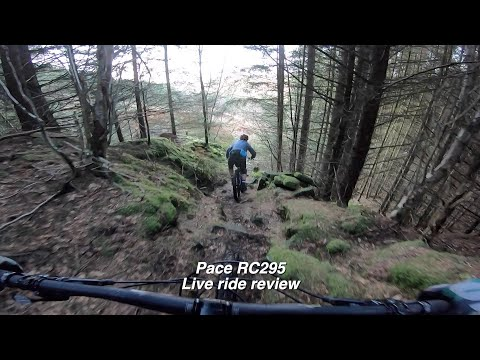 Pace RC295 Radical Trail MTB Live Ride Review