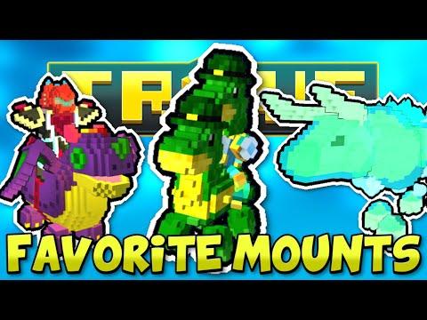 SCYUSHI'S FAVORITE MOUNTS IN TROVE