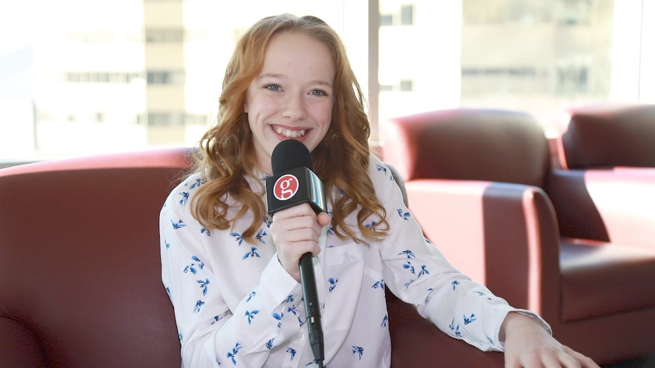 Amybeth Mcnulty Talks About Becoming Anne Shirley Youtube