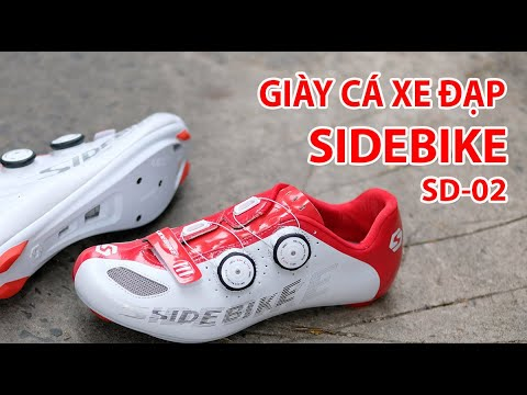 Giới thiệu giày cá đạp xe SIDEBIKE SD-02 – 2 khóa vặn – – SPORTS WORLD SHOP