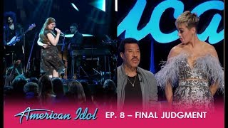 Catie Turner: Turns Into LADY GAGA On Stage And Katy Perry Is In LOVE! | American Idol 2018
