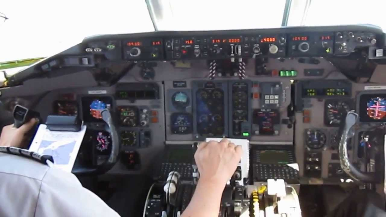 Md 83 Jumpseat Youtube