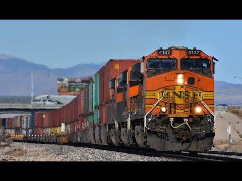 BNSF Seligman Sub Railfanning: Kingman, AZ - Part 1