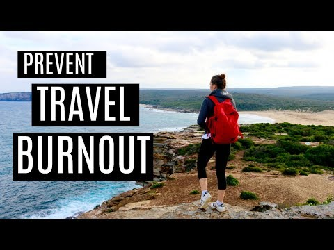 14 TIPS TO PREVENT TRAVEL BURNOUT