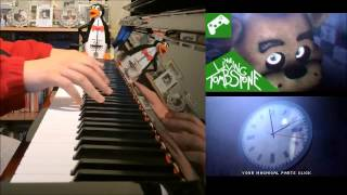 Five Nights At Freddy s 3 Die In A Fire The Living Tombstone Piano Cover SHEET MUSIC