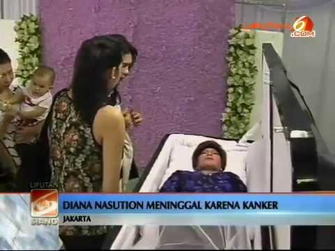 kronologi meninggalnya Diana Nasution