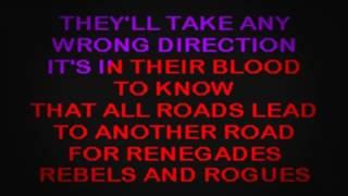 SC2101 08   Lawrence, Tracy   Renegades, Rebels & Rogues [karaoke]