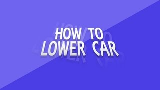 GTA.4 How to Lower Car (No Mod) PS.3