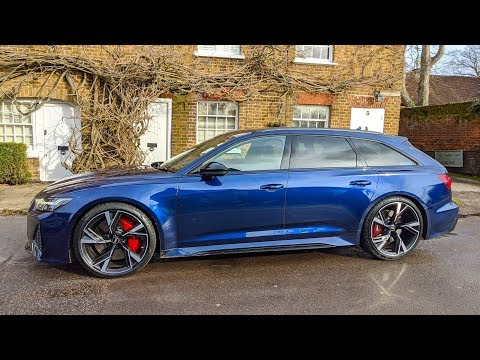NEW 2020 AUDI RS 6 AVANT | 1st Drive | | *Top Speed | *C8 RS6