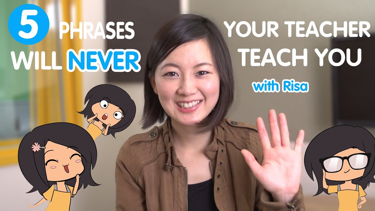 Learn the 5 Japanese Phrases your teacher will never tell