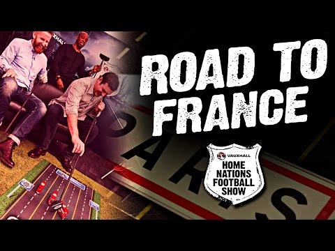 How close are the Home Nations to Paris? | The Road to France | Home Nations Football Show