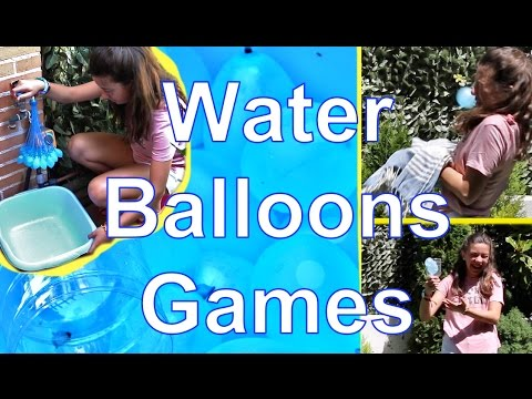 Water balloons games