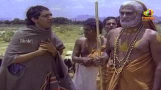 Sri Mantralaya Raghavendra Swamy Mahatyam Scenes - Rajnikanth heals a sheep.