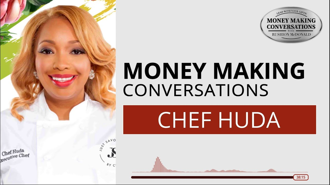"""Talking Food with Award-winning Chef Huda. Her new """"Just Savor by Chef Huda"""" signature spice line."""