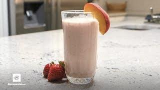 Super Peach Shake   Quick Recipes