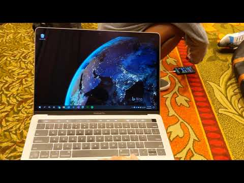 Windows Precision Touchpad Driver on MacBook Pro 2019